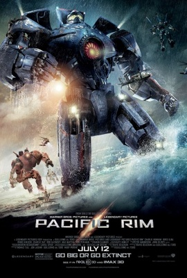 Pacific Rim movie poster (2013) poster MOV_cd33e253