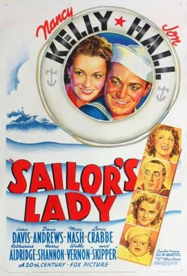Sailor's Lady movie poster (1940) poster MOV_cd3533ac