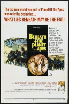 Beneath the Planet of the Apes movie poster (1970) poster MOV_cd5f5891