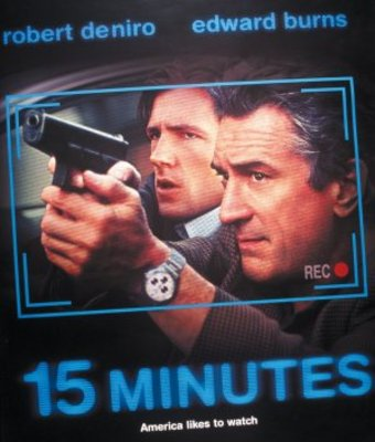15 Minutes movie poster (2001) poster MOV_cd6a344c