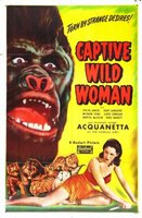 Captive Wild Woman movie poster (1943) picture MOV_cd6ddd76