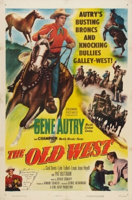 The Old West movie poster (1952) poster MOV_cd94647c