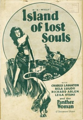 Island of Lost Souls movie poster (1933) poster MOV_cdad6d45