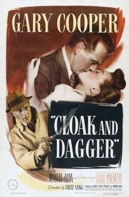 Cloak and Dagger movie poster (1946) poster MOV_cdbb5cf7