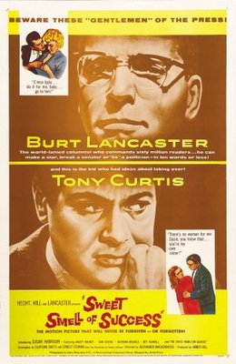 Sweet Smell of Success movie poster (1957) poster MOV_cdbe18df