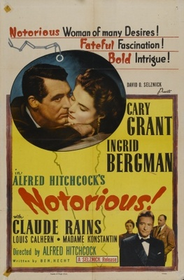 Notorious movie poster (1946) poster MOV_cdc39bfe