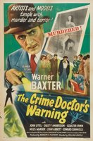 Crime Doctor's Warning movie poster (1945) picture MOV_cddd92e5