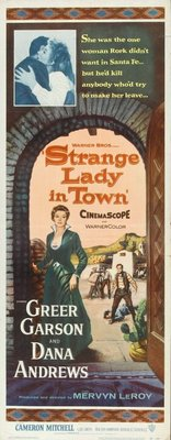 Strange Lady in Town movie poster (1955) poster MOV_cdea469b