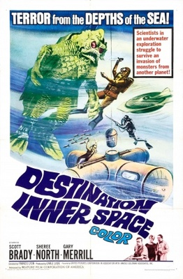 Destination Inner Space movie poster (1966) poster MOV_cdf2803d