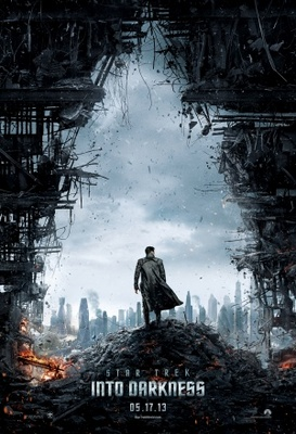 Star Trek Into Darkness movie poster (2013) poster MOV_ce007376