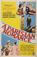 A Parisian Romance movie poster (1932) picture MOV_ce094c34