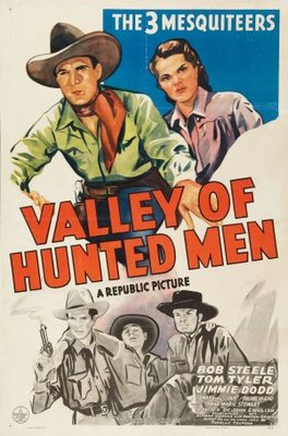 Valley of Hunted Men movie poster (1942) poster MOV_ce0c15e4