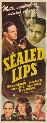 Sealed Lips movie poster (1942) poster MOV_ce20e2b1