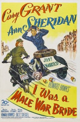 I Was a Male War Bride movie poster (1949) poster MOV_ce3730df