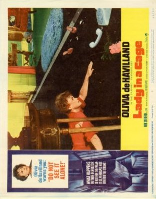 Lady in a Cage movie poster (1964) poster MOV_ce3cee5b