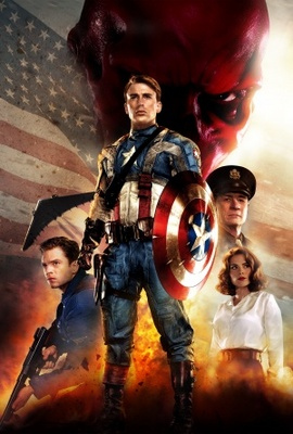 Captain America: The First Avenger movie poster (2011) poster MOV_ce477e8d