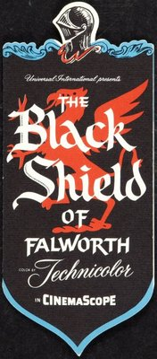 The Black Shield of Falworth movie poster (1954) poster MOV_ce5ded72