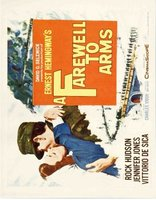 A Farewell to Arms movie poster (1957) picture MOV_ce625e09