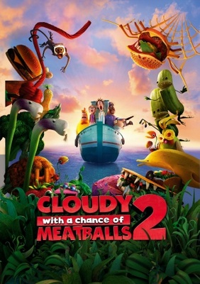 Cloudy with a Chance of Meatballs 2 movie poster (2013) poster MOV_ce7bdcfc