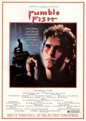 Rumble Fish movie poster (1983) poster MOV_ce7c5b97