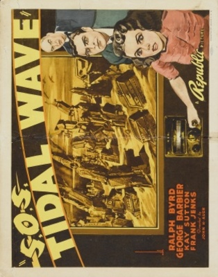 S.O.S. Tidal Wave movie poster (1939) poster MOV_ce7e8600