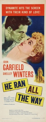 He Ran All the Way movie poster (1951) poster MOV_ce80e488