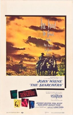 The Searchers movie poster (1956) poster MOV_ce8a5aab