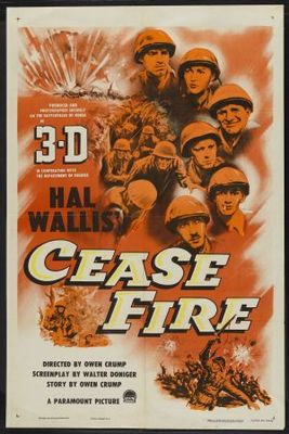 Cease Fire! movie poster (1953) poster MOV_ceb7715e