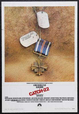 Catch-22 movie poster (1970) poster MOV_cebaaa7c