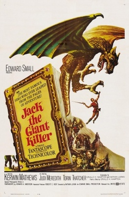 Jack the Giant Killer movie poster (1962) poster MOV_cec6be4f