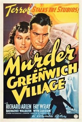 Murder in Greenwich Village movie poster (1937) poster MOV_ced75c08