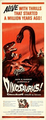 Dinosaurus! movie poster (1960) poster MOV_cee462f9