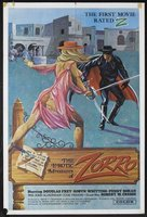 The Erotic Adventures of Zorro movie poster (1972) picture MOV_cee75706