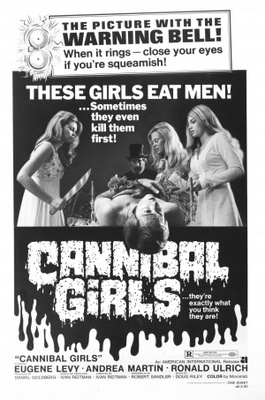 Cannibal Girls movie poster (1973) poster MOV_ceea109b