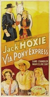 Via Pony Express movie poster (1933) picture MOV_cef8b5b4