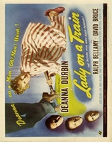 Lady on a Train movie poster (1945) picture MOV_cf08300f