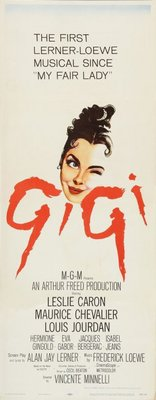 Gigi movie poster (1958) poster MOV_cf0c7976