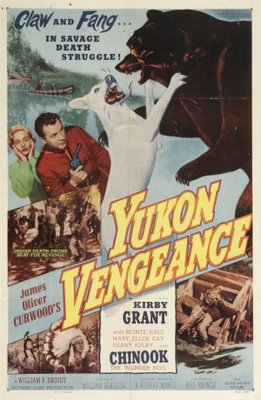 Yukon Vengeance movie poster (1954) poster MOV_cf382355