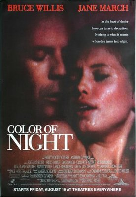 Color of Night movie poster (1994) poster MOV_cf4277ba