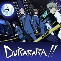 Durarara!! movie poster (2010) picture MOV_cf43e6e8