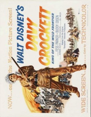 Davy Crockett, King of the Wild Frontier movie poster (1954) poster MOV_cf4be333