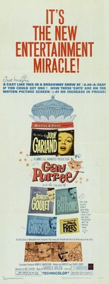 Gay Purr-ee movie poster (1962) poster MOV_cf61b917