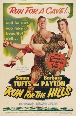 Run for the Hills movie poster (1953) poster MOV_cf6d5fd1