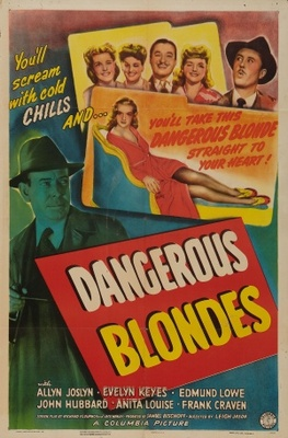 Dangerous Blondes movie poster (1943) poster MOV_cf849a2f