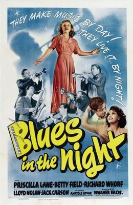 Blues in the Night movie poster (1941) poster MOV_cf90efd4