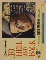 To Hell and Back movie poster (1955) picture MOV_cf956e40