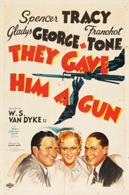 They Gave Him a Gun movie poster (1937) poster MOV_cfa16b52