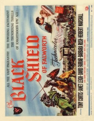 The Black Shield of Falworth movie poster (1954) poster MOV_cfa8326f
