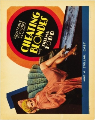 Cheating Blondes movie poster (1933) poster MOV_cfb3dbaf