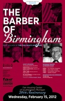 The Barber of Birmingham: Foot Soldier of the Civil Rights Movement movie poster (2011) picture MOV_cfbb3432